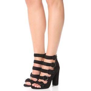 Kendall + Kylie Evie buckle sandal heel